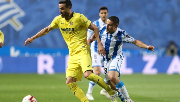 LaLiga: Resumen y Goles del Partido Real Sociedad (0) - (1) Villarreal del 25/04/2019   Vídeo