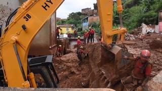 Sube número de muertos por violentas lluvias en sudeste de Brasil