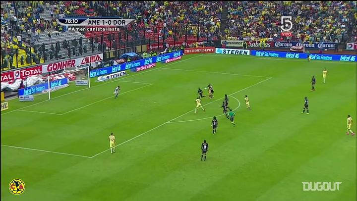El increíble gol en equipo del Club América ante Dorados