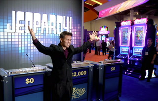 Jeopardy! James competes with G2E attendees