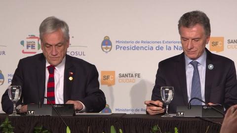 Argentina, Chile, Paraguay y Uruguay oficializaron candidatura para Mundial 2030