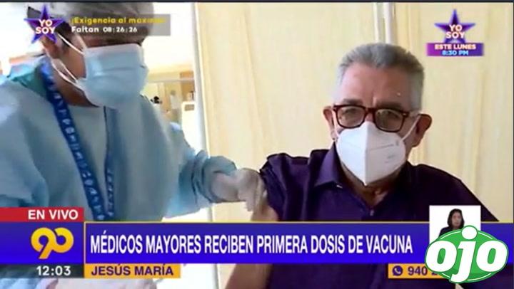 """Médicos jubilados se sorprenden al recibir la vacuna Sinopharm: """"Nos dijeron que nos iban a poner la Pfizer"""""""