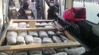 Capturan a empleados del Hospital Escuela que traficaban droga en ambulancia