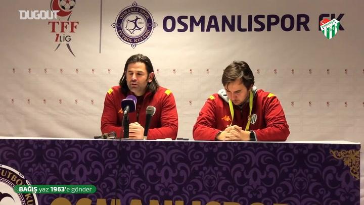 İbrahim Üzülmez'in Osmanlıspor Maçı Sonrası Açıklamaları