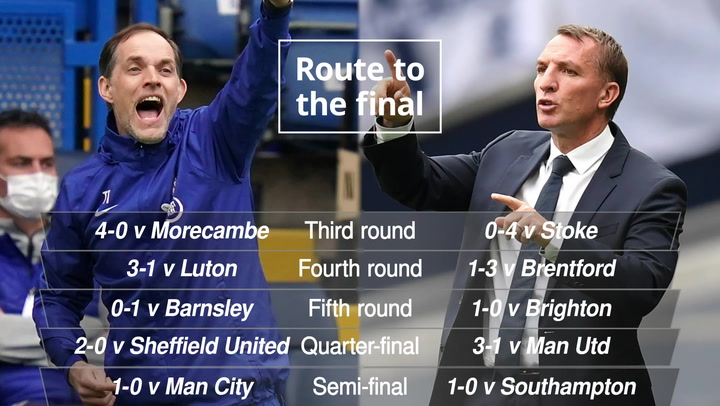 Chelsea and Leicester will go head to head in the 140th FA Cup final at Wembley