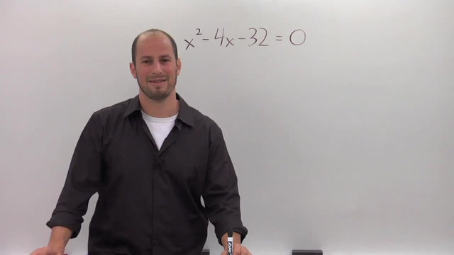 Solving a Quadratic by Completing the Square - Problem 1
