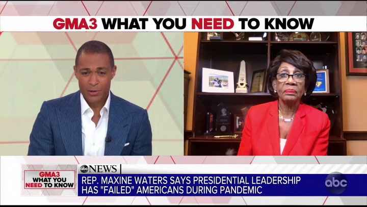 Maxine Waters: Trump Dog Whistles So Supporters Know 'He's About the Power of Whites'