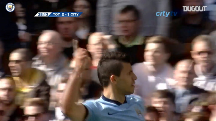 Manchester City's greatest goals away at Spurs