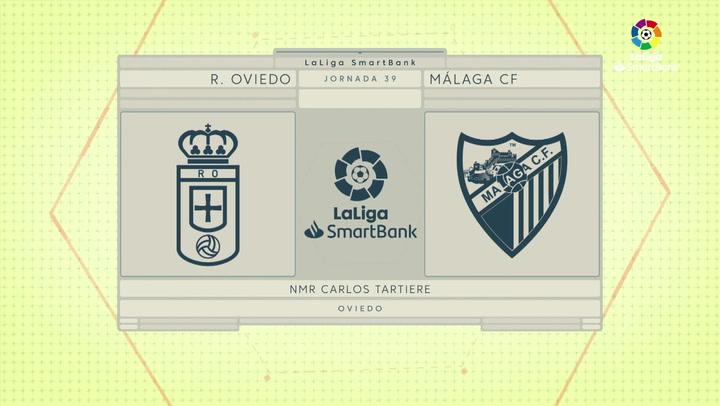 LaLiga SmartBank (J39): Resumen y goles del Oviedo 1-0 Málaga