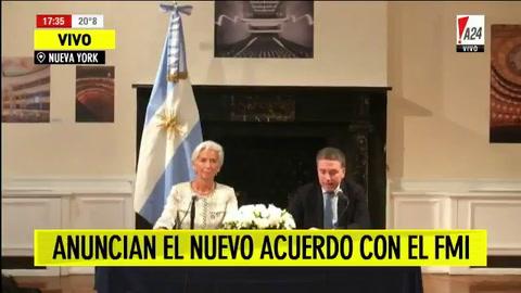 El FMI adelantó desembolsos y le prestó u$s 7 mil millones más a Macri