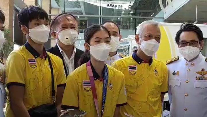น้องเทนนิส แหลงใต้ขอบคุณทุกกำลังใจ กลับถึงไทย ต้อนรับแน่นภูเก็ต