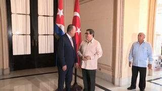 Erdogan invita al presidente de Cuba a visitar Turquía