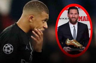 Mbappé se queda corto y Lionel Messi recibirá su sexta Bota de Oro
