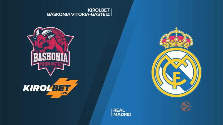 KIROLBET Baskonia Vitoria-Gasteiz - Real Madrid