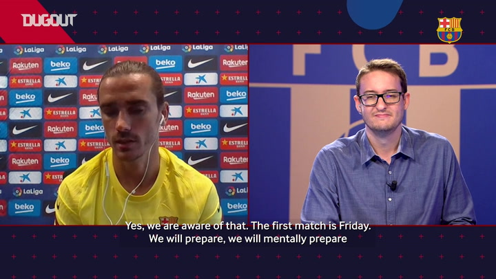 Griezmann: 'We have to make life difficult for Bayern and play our game'