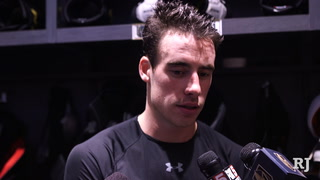 Golden Knights Reilly Smith says the team is riding a high right now