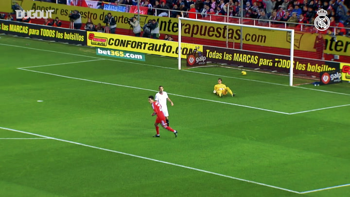 Cristiano Ronaldo's superb strike against Sevilla