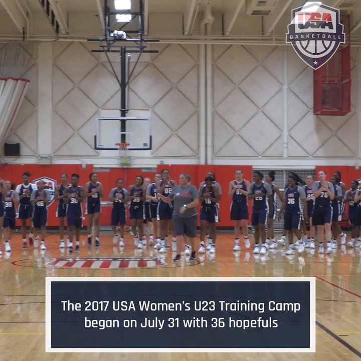 2017 USA Women's U23 National Team Training Camp