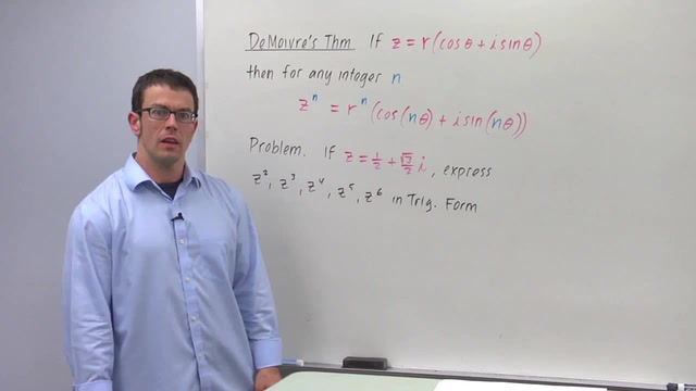 DeMoivre's Theorem - Problem 1
