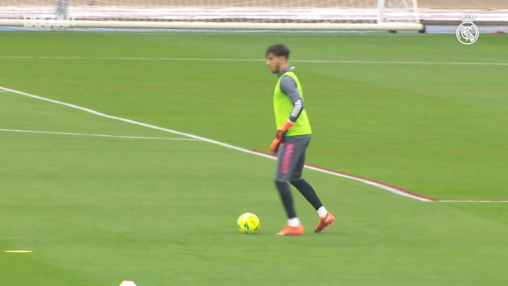 High-intensity training ahead of El Clásico