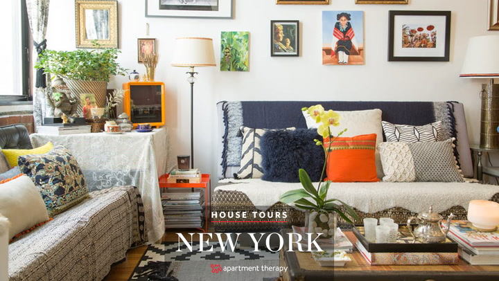 House Tour A Designer S Worldly Apartment Therapy
