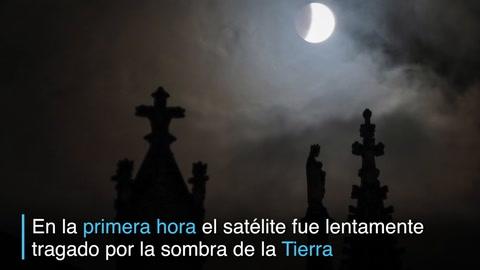 Así se vio el eclipse de Luna