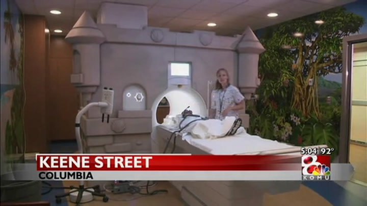 New MRI at MU\'s Children\'s Hospital designed to relieve anxiety