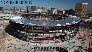 Allegiant Stadium remains on time and on budget – VIDEO