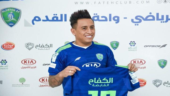 Christian Cueva jugará en Al-Fateh de Arabia