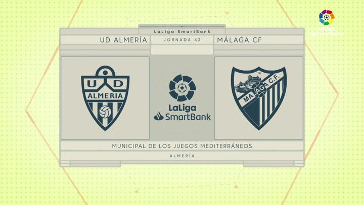 LaLiga Smartbank (Jornada 42): Almería 0-0 Málaga