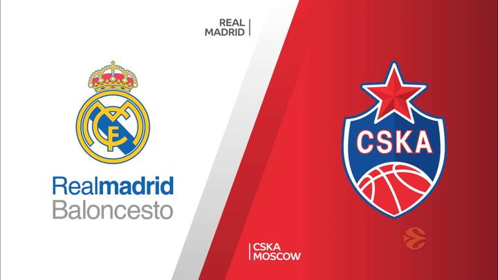 Euroliga: Real Madrid - CSKA Moscow