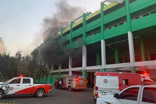 Un ladrón causa un incendio en el estadio de León y es capturado