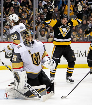 Golden Edge: Knights Fall To Penguins