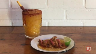 Making Cochinita Pibil Tacos at Santos Guisados Tacos & Beer in Las Vegas