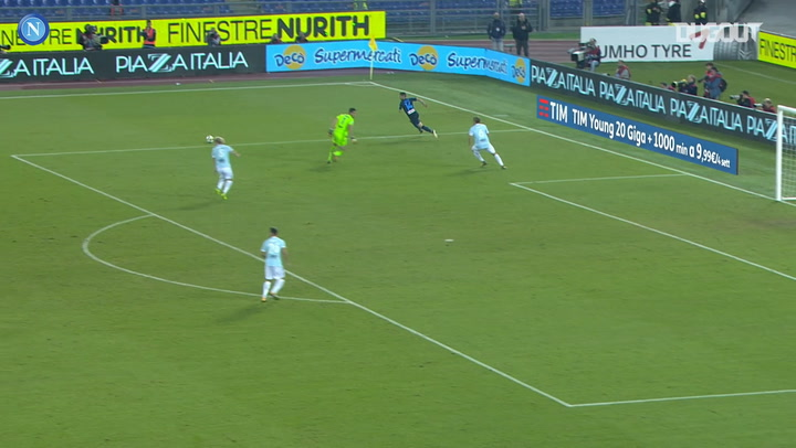 SSC Napoli's best goals at Lazio