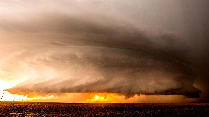 Vanvittig vær: Livsfarlig og umulig å se bort
