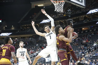 Colorado's Tyler Bey talks about Wednesday's Pac-12 victory over Arizona State