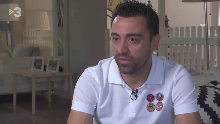 Xavi Hernández apoyó públicamente a Víctor Font