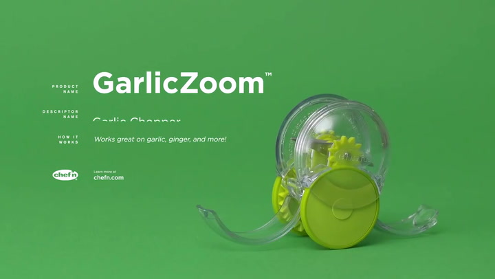 Preview image of Chef'n GarlicZoom Garlic Chopper video