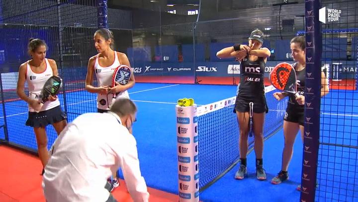 Resumen Cuartos de Final Femeninos Turno 1 Estrella Damm Open 2020