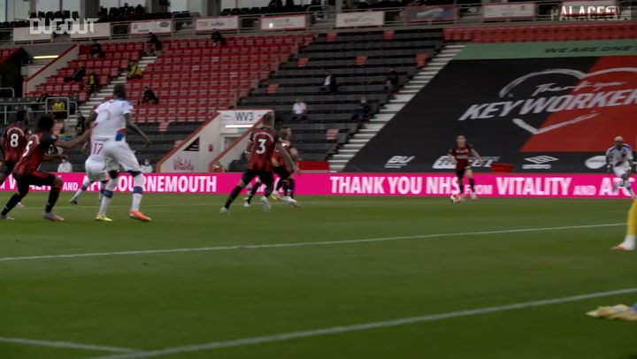 Pitchside view: Jordan Ayew seals Palace win at Bournemouth