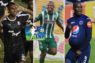 Tabla de goleadores: Un hondureño y un colombiano pelean liderato en la Liga Nacional