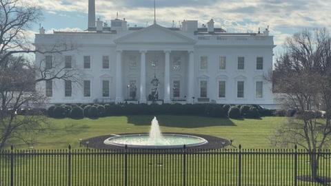 Trump pasa sus últimas horas en la Casa Blanca