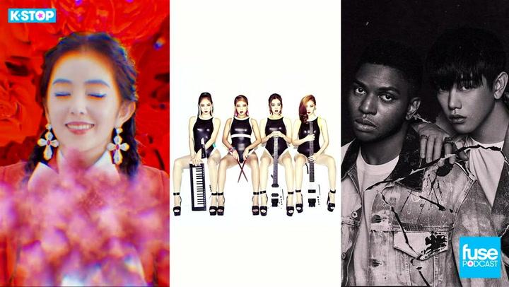 Gallant, Tablo, Eric Nam, Red Velvet, Zion.T, Wonder Girls Disband: K Stop