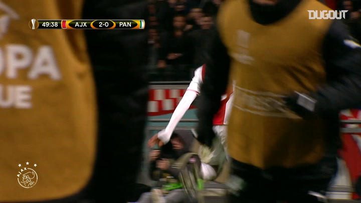 Kenny Tete opens Ajax account against Panathinaikos