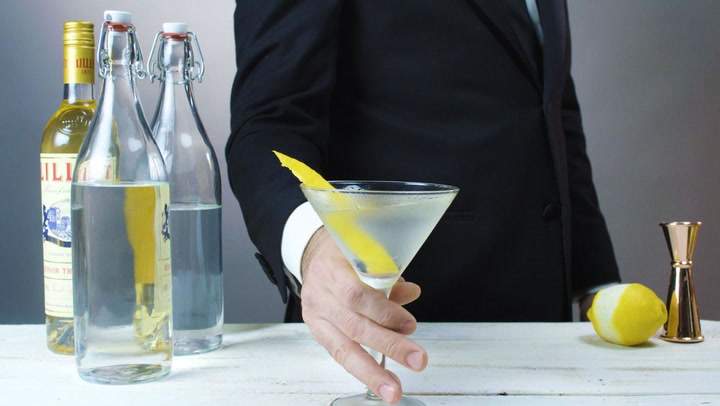 Watch Now: 4 James Bond-Inspired Cocktails