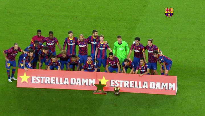 Resumen del partido del Trofeu Joan Gamper 2020 FC Barcelona-Elche