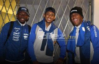 ¡Listos! Selección de Honduras llega a Estados Unidos para enfrentar a Ecuador