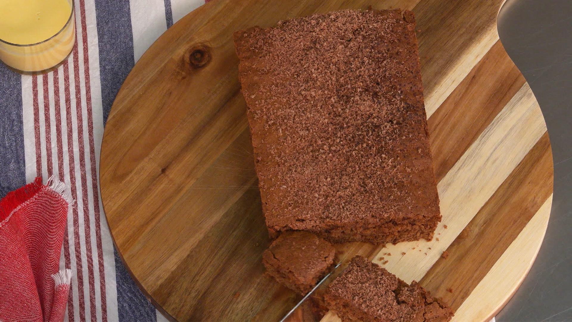La receta más fácil del bizcocho de chocolate