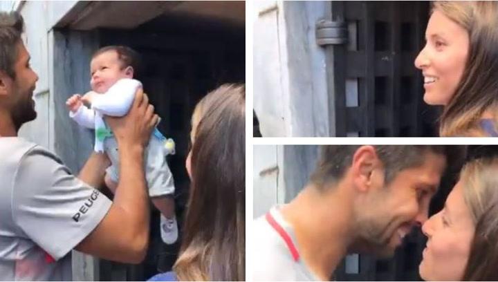 El vídeo más tierno de Fernando Verdasco con su hijo en Roma
